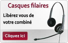 Casques filaire
