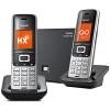 Téléphones sans fil duo