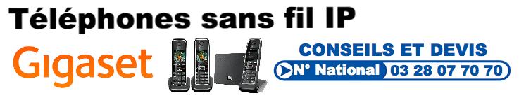 Téléphone sans fil IP (SIP)