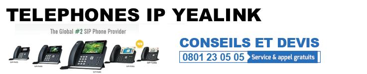 Téléphones IP Yealink