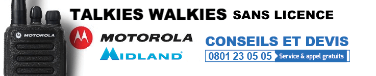 Talkie Walkie Sans Licence