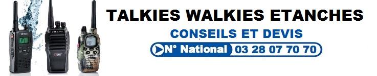 Talkie Walkie Etanche
