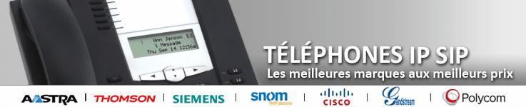 Téléphone IP SIP