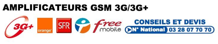 Amplificateur GSM 3G
