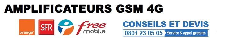 Amplificateur GSM 4G
