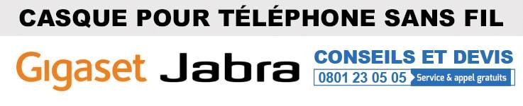Casque pour téléphone sans fil