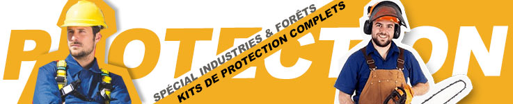 Kit antibruit spécial Industrie et Forêt