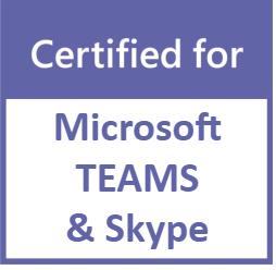 Casque optimisé Teams & Skype