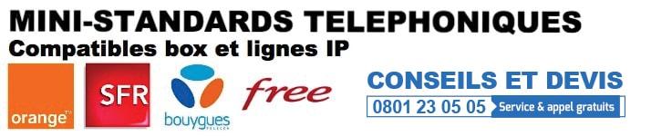 Standard sur ligne IP