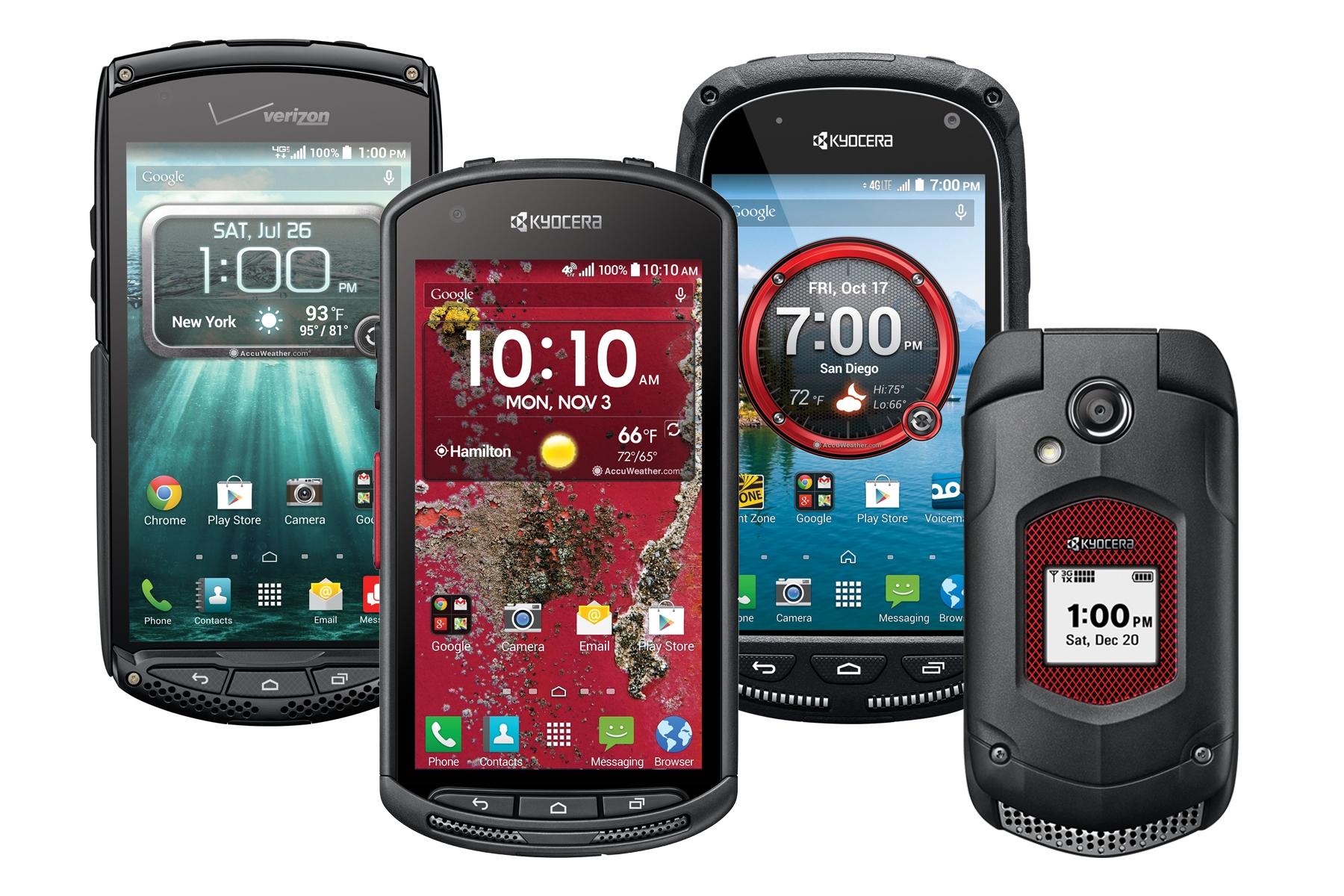 Téléphone mobile durci