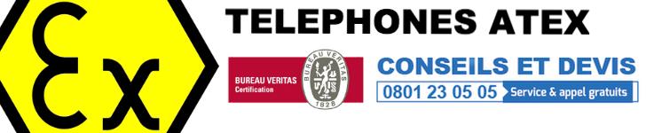 Téléphone mobile Atex