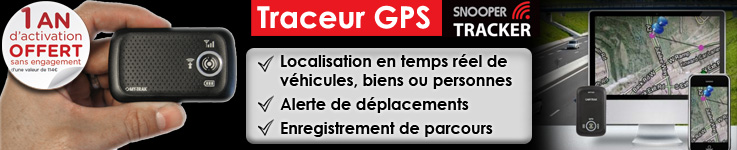 Tracker GPS (traceur)