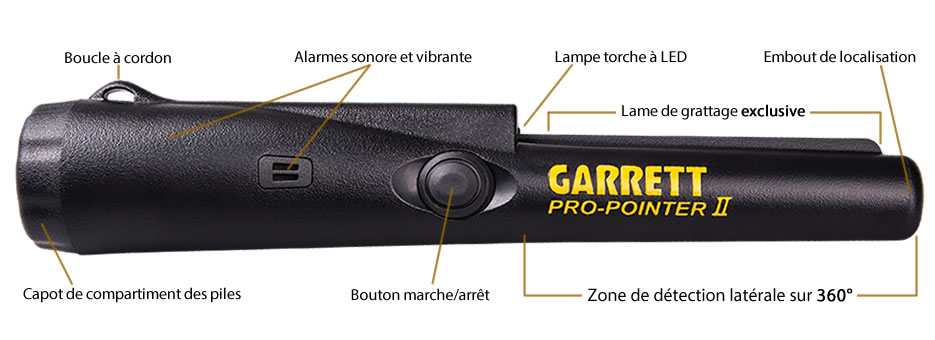 garrett pro pointer 2