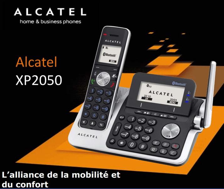 alcatel xp2050 t l phones sans fil alcatel. Black Bedroom Furniture Sets. Home Design Ideas