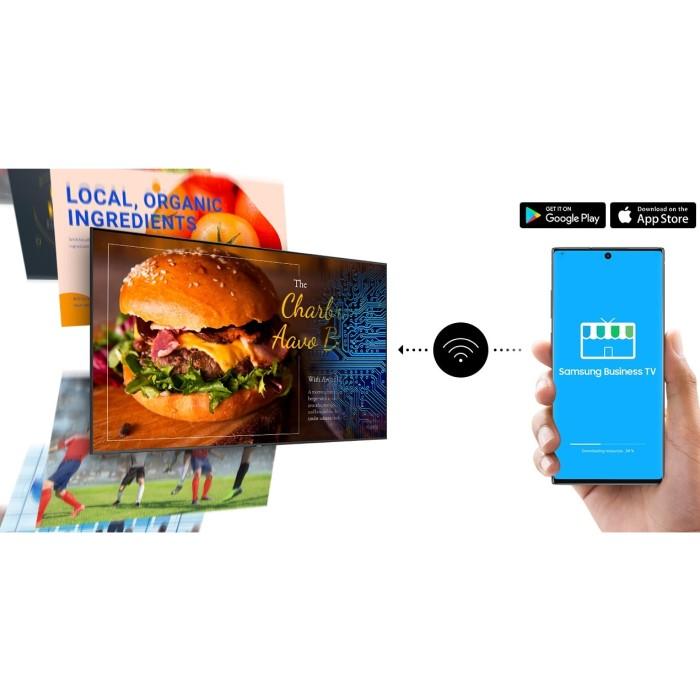 Application gratuite Samsung Business TV