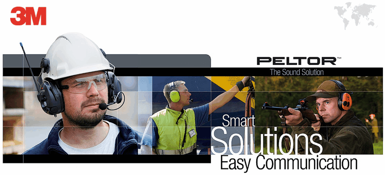 Peltor 3M smart solution