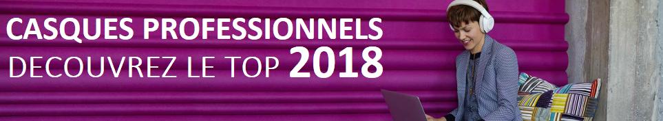 CASQUES PROFESSIONNELS JABRA PLANTRONICS 2018