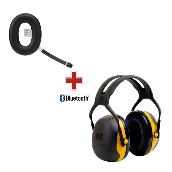 casque anti bruit bluetooth 3m peltor x2 disponible. Black Bedroom Furniture Sets. Home Design Ideas