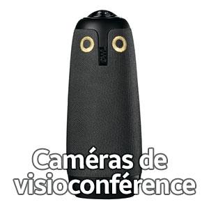 caméras de visioconférence
