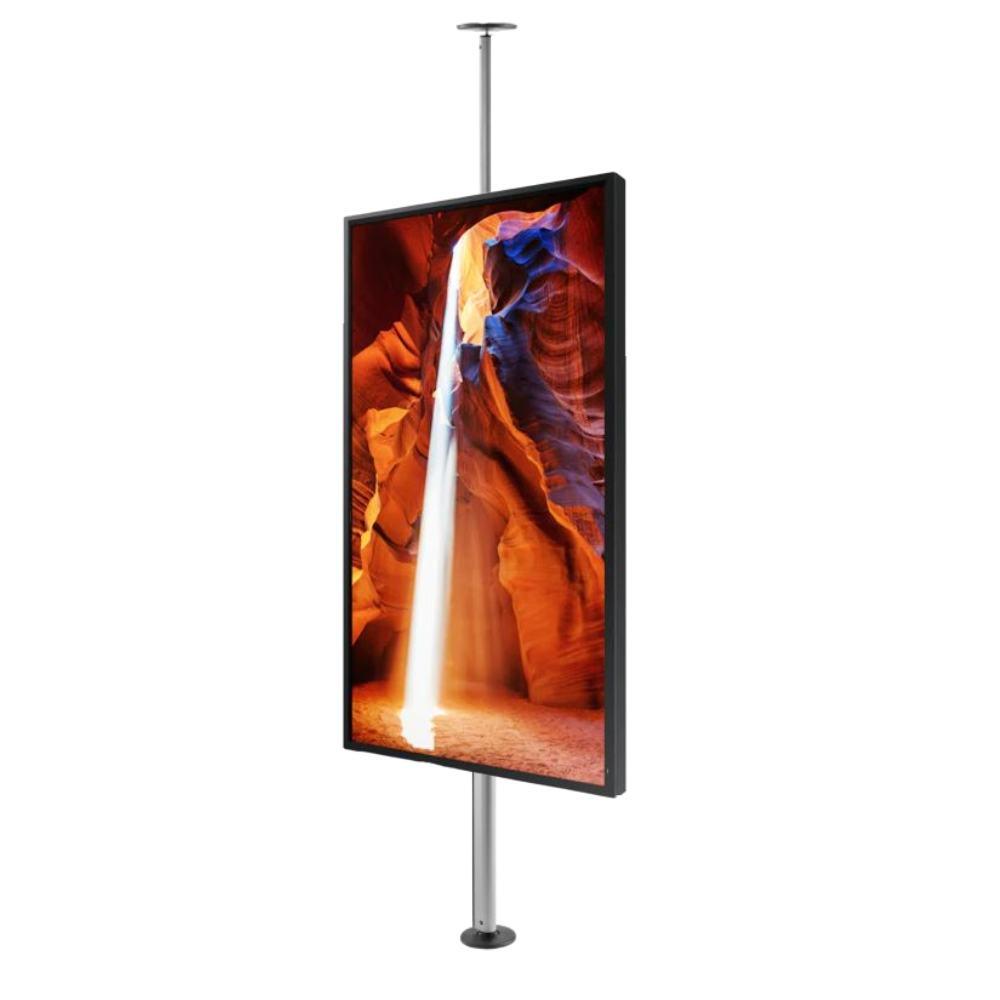 Affichage dynamique vitrine support  sol plafond
