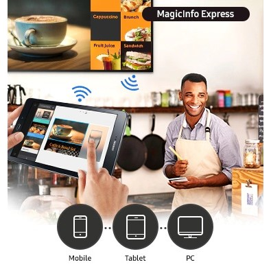 Logiciel gratuit Samsung MagicINFO Express 2