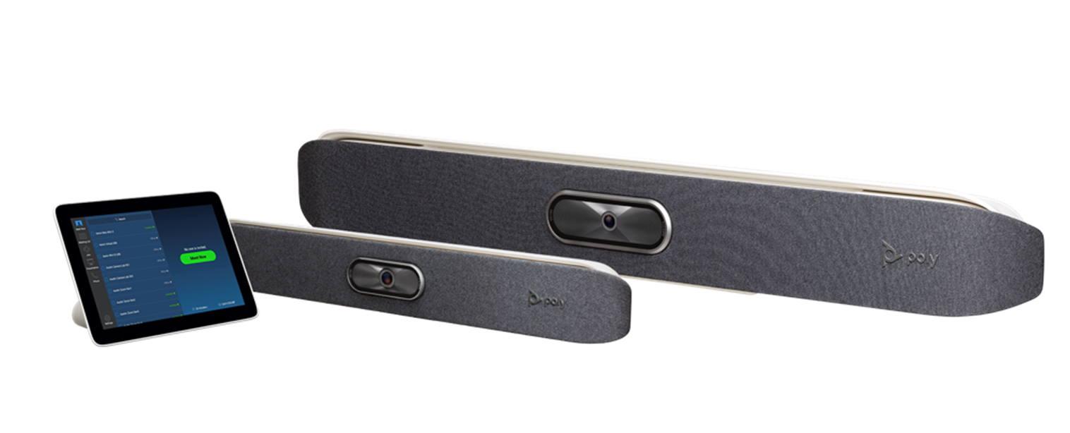 poly studio x30 et x50 : webcams professionnelles