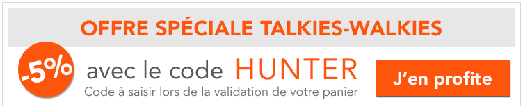 Promo 5% chasseurs