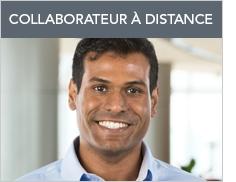 Collaborateur à distance