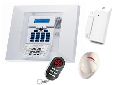powermax pro rtc gsm alarme sans fil gsm visonic. Black Bedroom Furniture Sets. Home Design Ideas