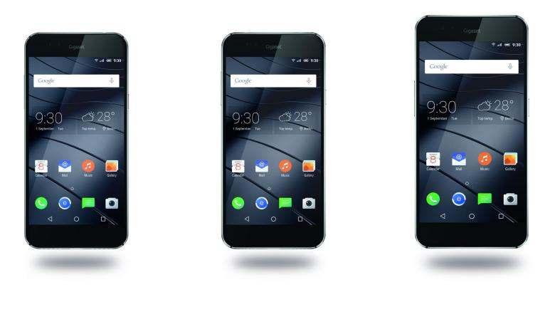 gamme smartphones gigaset