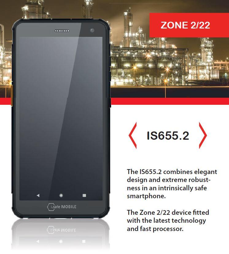 IS655.2 smartphone atex
