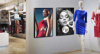 TOP 3 écran affichage dynamique Samsung DC55E en magasin
