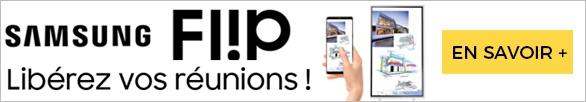 Bannière Samsung Flip