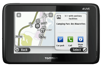 tomtom go live camping car gps camping car tomtom. Black Bedroom Furniture Sets. Home Design Ideas