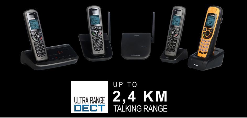 Topcom ultra range sr1250b t l phone sans fil longue port e - Meilleur routeur sans fil longue portee ...